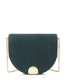 Ted Baker - Flossi Mini Suede & Leather Crossbody