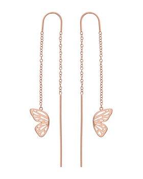 Olivia Burton -  Butterfly Threader Drop Earrings