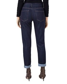 Liverpool - Belted Boyfriend Jeans in Indigo Rinse
