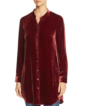 Eileen Fisher - Velvet Tunic Top
