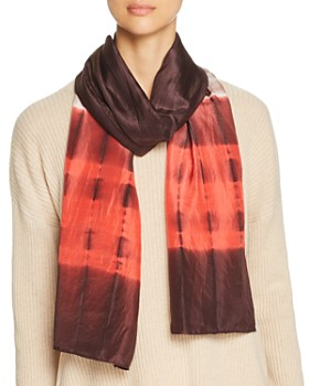 Eileen Fisher - Color-Block Silk Scarf
