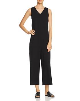 Eileen Fisher - Sleeveless Wide-Leg Jumpsuit