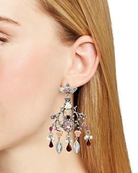 Dannijo - Ivy Statement Chandelier Earrings