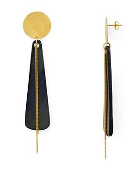 Chan Luu - Horn Drop Earrings