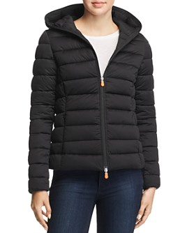 Save The Duck - Packable Hooded Short Puffer Coat