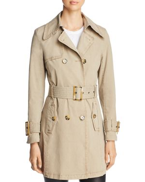 FILLMORE Trench Coat in Trail