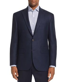 Jack Victor - Tonal Herringbone Regular Fit Sport Coat
