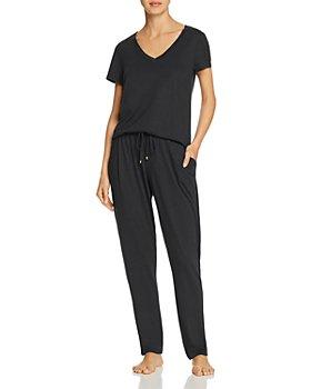 Hanro - Sleep & Lounge Short Sleeve Tee & Sleep Pants