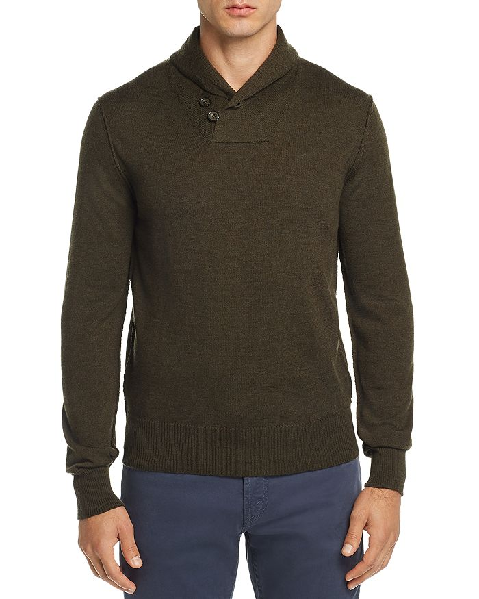 OOBE - Fulton Shawl-Collar Pullover Sweater