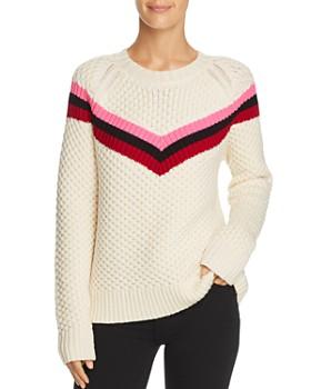 MILLY - Wool Fisherman Sweater