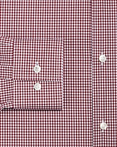 BOSS - Gingham Slim Fit Dress Shirt