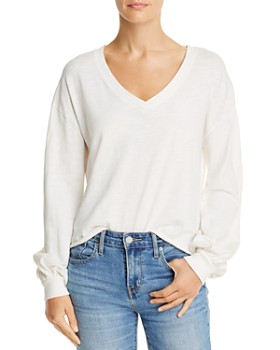 Nation LTD - Willa Balloon-Sleeve Sweater