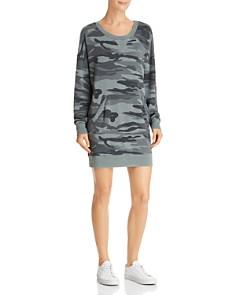 Splendid - Courtside Camo Sweatshirt Dress