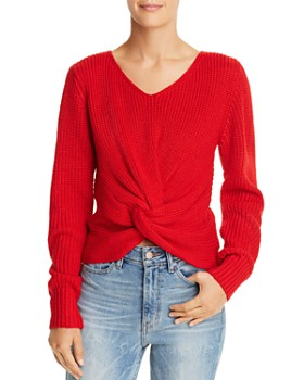 Sage the Label - Hold You Close Twist-Front Sweater