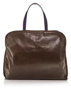 Marni - Large Leather Garment Bag