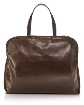 Marni - Large Leather Garment Bag