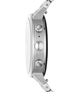 Fossil - Q Explorist HR Stainless Steel Touchscreen Smartwatch, 40mm