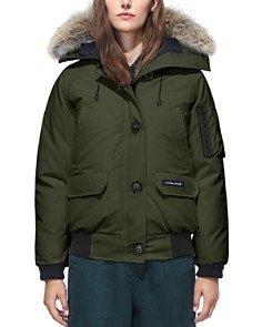 Canada Goose - Chilliwack Fur Trim Bomber Jacket