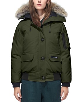 Canada Goose - Chilliwack Fur Trim Bomber Jacket ...