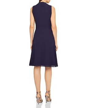 REISS - Alana Pleat-Front Dress