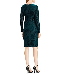 Ralph Lauren - Flocked Velvet Dress