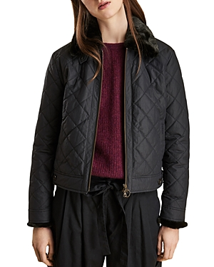 Barbour TETBURY CROPPED QUILTED JACKET