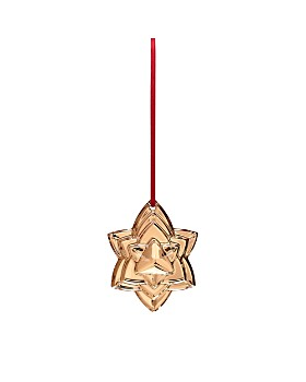 Baccarat - Annual 2018 Clear Ornament