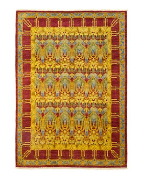 "Solo Rugs - Arts & Crafts Vienna Hand-Knotted Area Rug, 8'1"" x 10'2"""