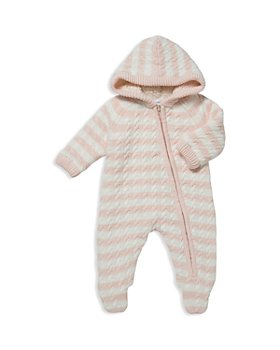 Angel Dear - Girls' Sherpa-Lined Knit Footie - Baby