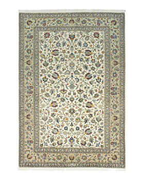 """Solo Rugs - Kashan Candace Hand-Knotted Area Rug, 6'9"""" x 10'0"""""""