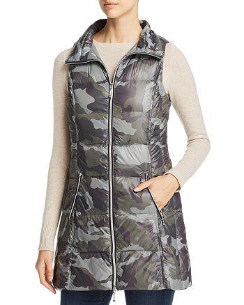 6ecdddd00976e Fillmore Camo Print Long Down Puffer Vest | Bloomingdale's