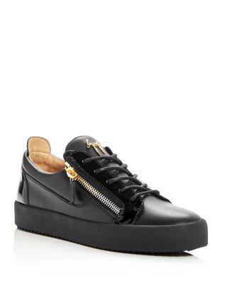 Giuseppe Zanotti Men's Leather Low-Top