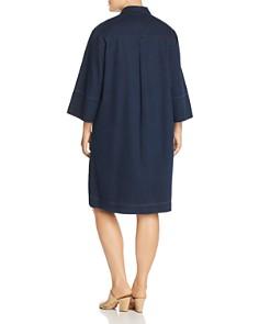 Lafayette 148 New York Plus - Cara Denim Shirt Dress