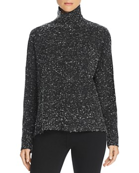 FRENCH CONNECTION - Faray Mock-Neck Sweater