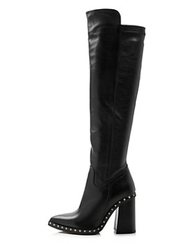 Charles David - Women's Shania Studded Leather Tall High-Heel Boots