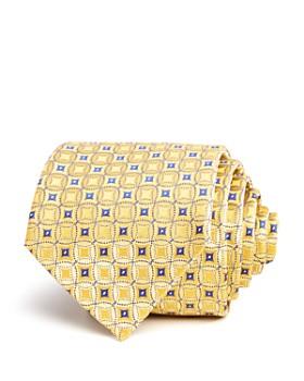 Armani - Circle-Medallion Silk Classic Tie