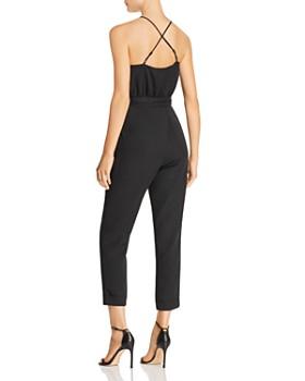 JOA - Cross-Back Cropped Jumpsuit