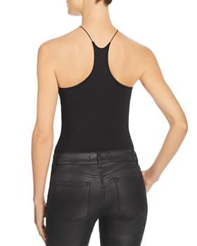alexanderwang.t - High-Neck Jersey Bodysuit