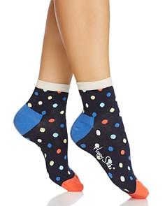 Happy Socks Polka Dot Anklet Socks - Bloomingdale's_0
