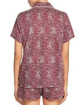 Splendid - Piped Short Pajama Set