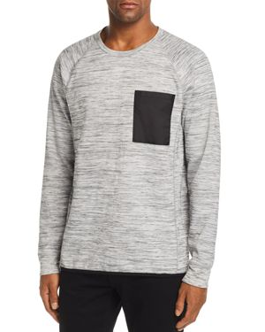 PACIFIC & PARK CHEST-POCKET SPACEDYED SWEATSHIRT - 100% EXCLUSIVE