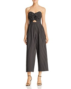 ASTR the Label - Mara Strapless Wide-Leg Jumpsuit