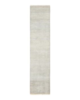 """Solo Rugs - Savannah Cambridge Hand-Knotted Runner Rug, 2' 6"""" x 12' 0"""""""