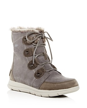 Sorel - Women's Explorer Joan Waterproof Suede Boots