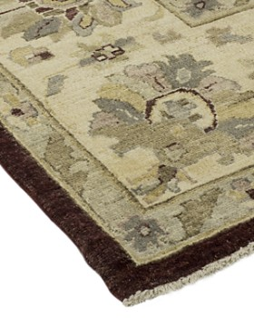 """Solo Rugs - Oushak Abel Hand-Knotted Area Rug, 8' 10"""" x 12' 5"""""""
