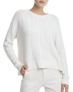 Atm Anthony Thomas Melillo Relaxed Cable Sweater