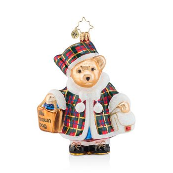 Christopher Radko - Bloomingdale's 2018 Christmas Shopping Muffy Ornament - 100% Exclusive