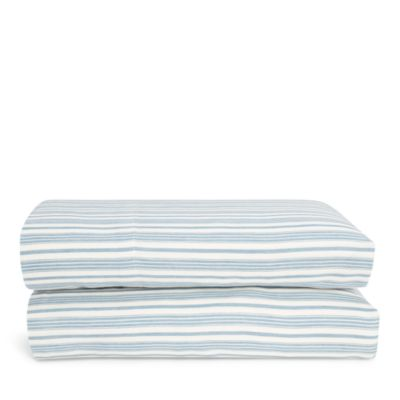 Mc Kensie Stripe Fitted Sheet, Queen by Ralph Lauren