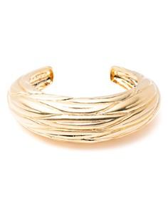 Trina Turk - Etched Leaf Cuff Bracelet