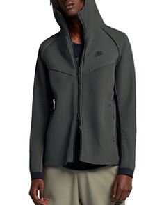 Nike - Tech Pack Textured-Woven Hooded Jacket